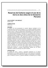 Reservas de Carbono Segun el Uso de la T... by Arevalo, Luis
