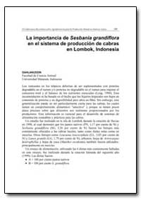 La Importancia de Sesbania Grandiflora e... by Food and Agriculture Organization of the United Na...