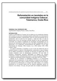 Reforestacion en Tacotales en la Comunid... by Food and Agriculture Organization of the United Na...