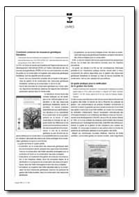 Comment Conserver les Ressources Genetiq... by Food and Agriculture Organization of the United Na...