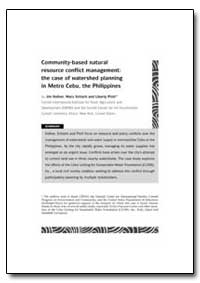 Community-Based Natural Resource Conflic... by Hafner, Jim