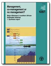 Management, Co-Management or No Manageme... by Food and Agriculture Organization of the United Na...