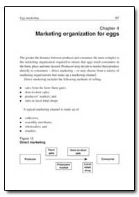 Marketing Organization for Eggs by Food and Agriculture Organization of the United Na...