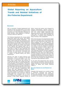 Global Reporting on Aquaculture Trends a... by Food and Agriculture Organization of the United Na...