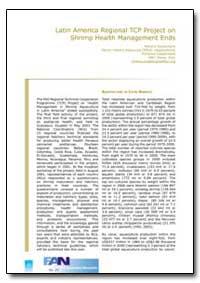 Latin America Regional Tcp Project on Sh... by Subasinghe, Rohana P.