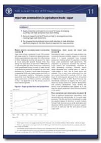 Important Commodities in Agricultural Tr... by Food and Agriculture Organization of the United Na...