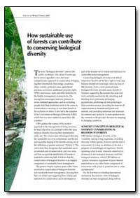 How Sustainable Use of Forests Can Contr... by Food and Agriculture Organization of the United Na...