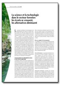 La Science et la Technologie Dans le Sec... by Food and Agriculture Organization of the United Na...