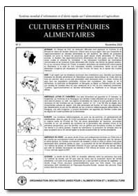 Cultures et Penuries Alimentaires No by Food and Agriculture Organization of the United Na...
