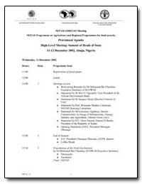 Nepad/Adb/Fao Meeting Nepad Programme on... by Food and Agriculture Organization of the United Na...