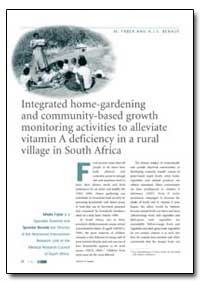 Integrated Home-Gardening and Community-... by Faber, M.