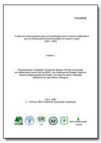 Organizada Por el Instituto Nacional de ... by Food and Agriculture Organization of the United Na...