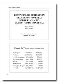 Potencial de Mitigacion Del Sector Fores... by Food and Agriculture Organization of the United Na...