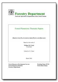 Protecting Plantations from Pests and Di... by Ciesla, William M.