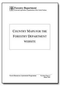 Country Maps for the Forestry Department... by Food and Agriculture Organization of the United Na...
