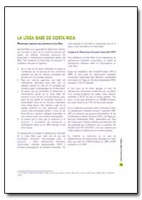 La Linea Base de Costa Rica by Food and Agriculture Organization of the United Na...