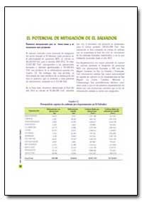 El Potencial de Mitigacion de El Salvado... by Food and Agriculture Organization of the United Na...