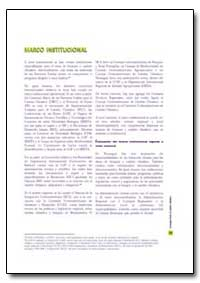Marco Institucional by Food and Agriculture Organization of the United Na...
