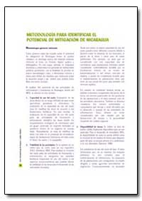 Metodologia para Identificar el Potencia... by Food and Agriculture Organization of the United Na...