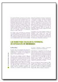 Las Bases para Calcular El Potencial de ... by Food and Agriculture Organization of the United Na...