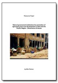 Role of Government Institutions for Prom... by Polman, Wim