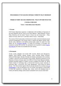 Proceedings of the Fao/Czech Republic Fo... by Food and Agriculture Organization of the United Na...
