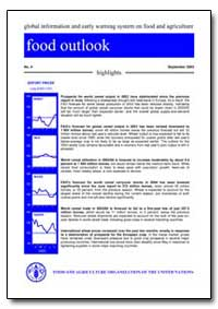 Food Outlook by Food and Agriculture Organization of the United Na...