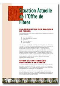 Situation Actuelle de Loffre de Fibres by Food and Agriculture Organization of the United Na...