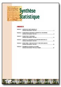 Synthese Statistique by Food and Agriculture Organization of the United Na...