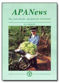 The Asia-Pacific Agroforestry Newsletter by Sinclair, Fergus L.