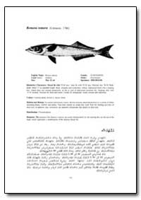 Remora Remora (Linnaeus, 1766) by Food and Agriculture Organization of the United Na...