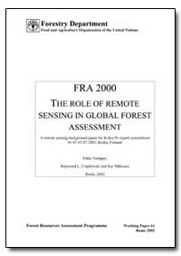 The Role of Remote Sensing in Global For... by Tomppo, Erkki
