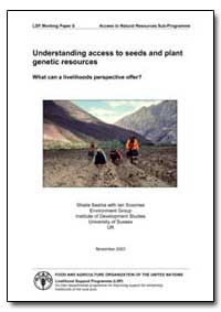 Understanding Access to Seeds and Plant ... by Food and Agriculture Organization of the United Na...
