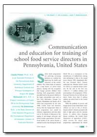 Communication and Education for Training... by Probart, Claudia