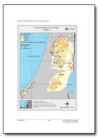 Map of the West Bank and Gaza Strip 2003 by Food and Agriculture Organization of the United Na...