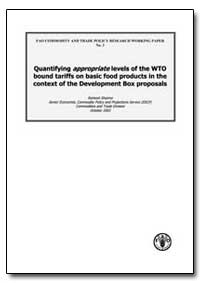 Quantifying Appropriate Levels of the Wt... by Sharma, Ramesh P.