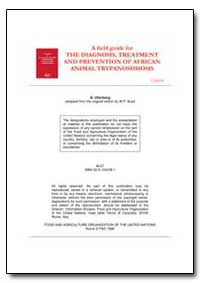 The Diagnosis, Treatment and Prevention ... by Uilenberg, G.