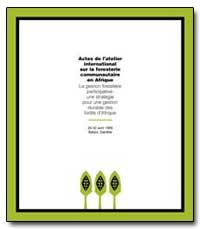 Synthese de Latelier International sur l... by Bojang, Foday