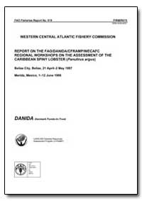 Report on the Fao/Danida/Cframp/Wecafc R... by Food and Agriculture Organization of the United Na...