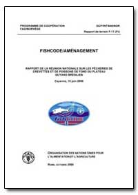Rapport de la Reunion Nationale sur les ... by Food and Agriculture Organization of the United Na...