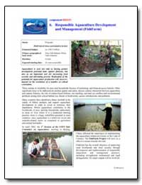 Responsible Aquaculture Development and ... by Food and Agriculture Organization of the United Na...