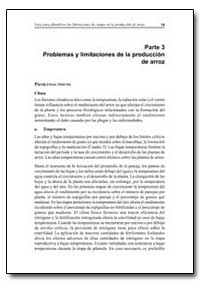 Problemas Y Limitaciones de la Produccio... by Food and Agriculture Organization of the United Na...