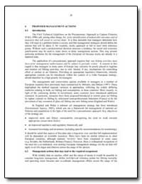 Proposed Management Actions by Food and Agriculture Organization of the United Na...
