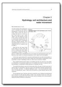 Hydrology, Soil Architecture and Water M... by Food and Agriculture Organization of the United Na...