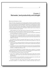 Rainwater, Land Productivity and Drought by Food and Agriculture Organization of the United Na...