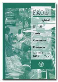 Trade in Means of Agricultural Productio... by Food and Agriculture Organization of the United Na...