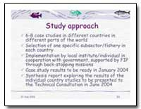 Study Approach by Food and Agriculture Organization of the United Na...