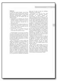 Preface by Food and Agriculture Organization of the United Na...