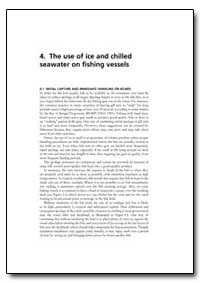 The Use of Ice and Chilled Seawater on F... by Food and Agriculture Organization of the United Na...