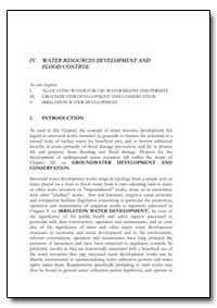 Water Resources Development and Flood Co... by Food and Agriculture Organization of the United Na...